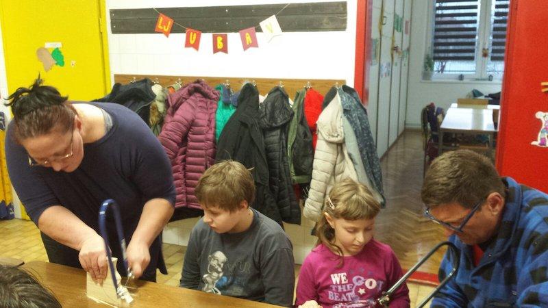 Radionica u područnoj školi Vardarac