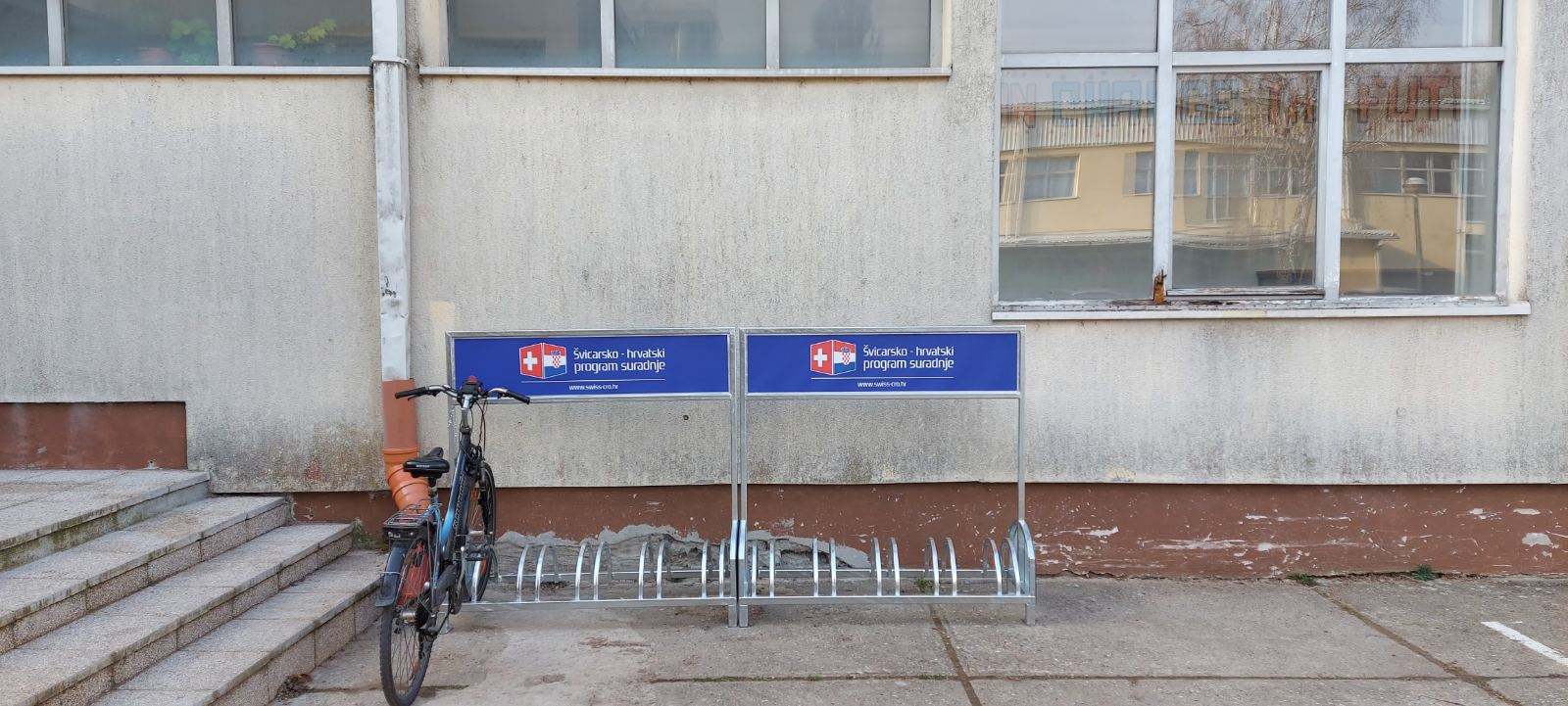 Donacija stalka za bicikle