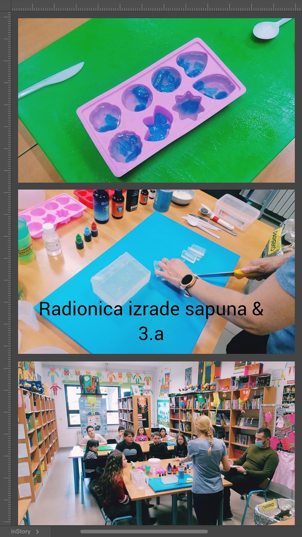 Školski projekt izrade sapuna