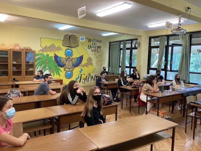 Susret škola Tin Ujević-Vladimir Nazor